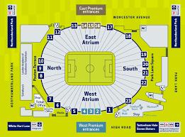 Spurs Stadium Seating Chart Tottenham Hotspur Fc Tottenham Hotspur Stadium Guide