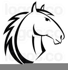 horse head clipart. Plain Horse Horse Head Outline Clipart Image For