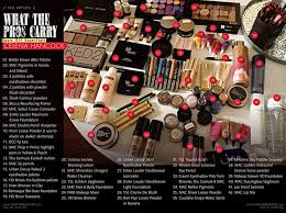 what the pros carry 42 makeup must haves in celena han s basic essential kit