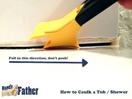 removing silicone caulk remove caulking from tile how to bathroom