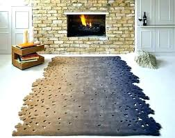 odd shaped rugs irregular large size of color block area rug modern texture and thresholdtm si
