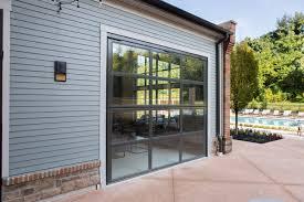 folding garage doors. Folding Glass Garage Doors. Also Shows How The SST II Bi-fold Has No Doors