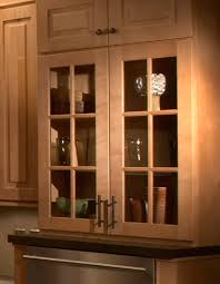 Mullion Glass Door Cabinets in Traditional or Shaker Style