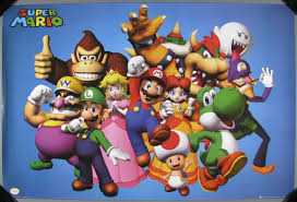 Poster:Video Game Poster: <b>Super Mario</b> Characters — Google Arts ...