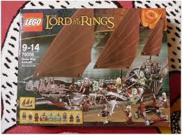 about the lego lord of the rings pirate ship