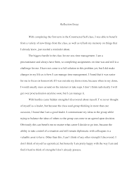 The beginning of the text is easier to write when the whole essay is ready. How To Start A Reflection Paper Arxiusarquitectura