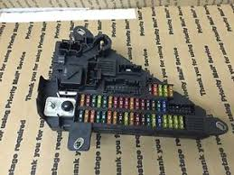 bmw oem e60 e61 trunk rear back fuse power junction fuse box relay image is loading bmw oem e60 e61 trunk rear back fuse