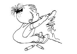 Coloriage Petit Enfant D Ssine Img 11879