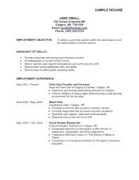 Career Objective On Resume Career Objectives Resume 73