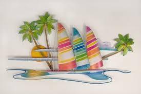 tropical beach decor 3 on tropical themed wall art with paradise found tropical beach decor wall art