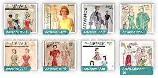 Vintage Sewing Patterns Best A Wikia Of 4848 Vintage Sewing Patterns Spanning Six Decades