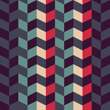 Retro Pattern Classy Abstract Retro Geometric Pattern Digital Art By Atthamee Ni