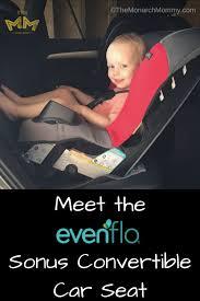 meet the evenflo sonus convertible car seat