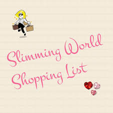 The Ultimate, Printable Generic Slimming World Shopping List ...