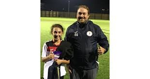 U12 Girls October Player of the Month