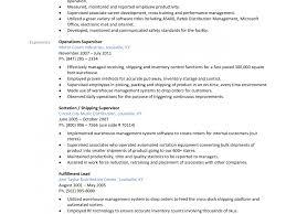 Warehouse Supervisor Job Description For Resume Resume Template Warehouse Manager Templates Best Of Resumes 76