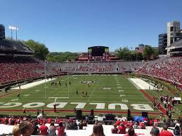 Uga Seating Chart Sanford Stadium Sanford Stadium Section 118 Home Of Georgia Bulldogs
