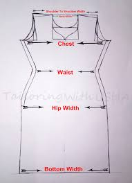 Churidar Measurement Chart Simple Suit Kurti Drafting Pattern Usha Seminary