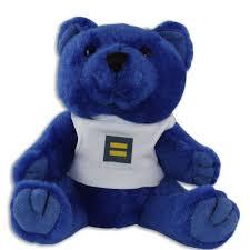 Hrc Human Rights Campaign Rainbow Bear