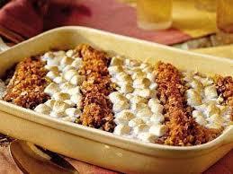 sweet potato casserole recipe with marshmallows and pecans. Unique Potato Sweet Potato Casserole To Recipe With Marshmallows And Pecans T