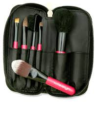 misslyn makeup brush set small