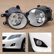 2007 Toyota Camry Daytime Running Lights Dwcx 2pcs 55w 9 Led Round Front Right Left Fog Light Lamp
