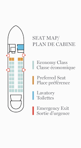 Emb E90 Jet Seating Chart Air Canada E90 Seat Map