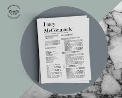 Fancy Resume Templates Stunning Lucy McCormack Resume Cover Letter Fancy Template For