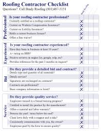 a roofing estimate is a business interview brady roofing a roofing estimate is a business interview