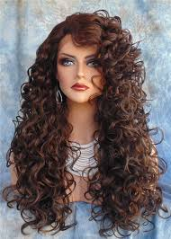 Fs4 27 Color Chart Gorgeous Long Curly Mix Color 4 27 Celebrity Wig Womens