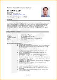 Hvac Engineer Sample Resume 11 Cv Mechanical Nardellidesign Com