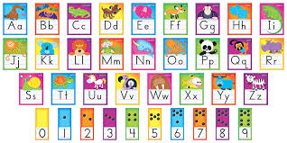 alphabet picture cards awesome animals alphabet cards standard manuscript bulletin board