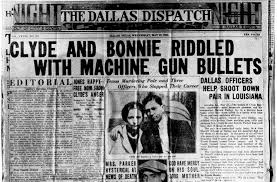 bonnie and clyde death news in paper miscellaneous  explore bonnie and clyde death bonnie clyde and more
