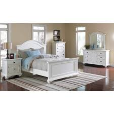 white twin bed. ELEMENTS BP700TB Brook White Twin Bed