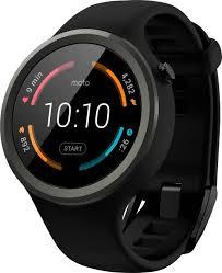 motorola smartwatch. motorola moto 360 sport black smartwatch m