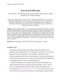 n philosophy essay n philosophy dr swami satya  experimental philosophy essay united states philosophy joshua knobe