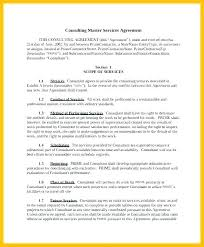 business services template business service contract template