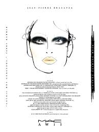 Mac London Aw13 Daily Face Chart For February 15th