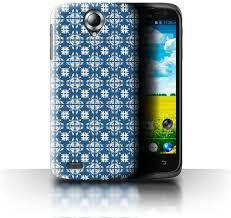 Stuff4 Phone Case for Lenovo S820 Blue ...