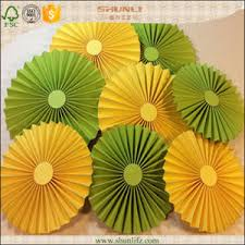 Hanging Paper Flower Backdrop China Hanging Paper Flower Fan Christmas Decoration China Diy
