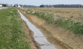 drainage ditch we only have so much groundwater farm and dairy