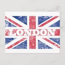 London flag, flags, london, animated, waving, flattered, flags of the world, anthem, hymn. Alte London Flagge Postkarte Zazzle De