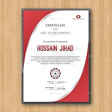 best modern editable certificates template  the title
