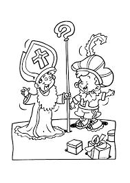 Hulp Sinterklaas En Zwarte Piet Sinterklaas Kleurplaten