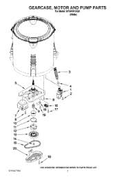 parts for amana ntw4501xq0 washer appliancepartspros com 04 gearcase motor and pump parts parts for amana washer ntw4501xq0 from appliancepartspros