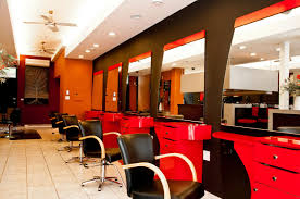Cool Modern Hair Salons Red And Black Furniture Jpg 1286 854