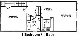 canton gardens apartments. 1BR/1BA - Canton Garden Apartments Gardens A