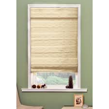 rolled roman shades