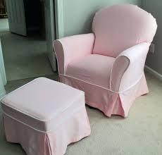 lovely chair and ottoman slipcover custom nursery glider chair and ottoman slipcover set chair and a
