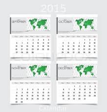 Simple 2015 Calendar Simple 2015 Year Calendar September Stock Vector Colourbox